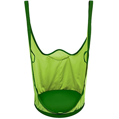 Sorbus Kids Pod Swing Chair Nook – Hanging Seat Hammock Nest for Indoor and Outdoor Use Great for Children, All Accessories Included Pod Green