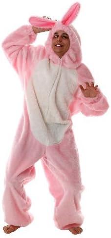 Disfraz de conejo rosa peluche de disfraces disfraz de animales ...