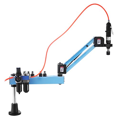 Happybuy Tapping Machine M3-M12 Tap Collets 1000mm Pneumatic Tapping Machine 400rpm/min Vertical Type Air Tapping Machine Perfect for Machinery Manufacturing Industry - Type Tapping Collet