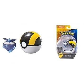 POKEMON - Pokeball pokemonfigur rocara en el hyperball/CARBINK Con ...