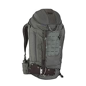 ZRWJ Tactical Backpack, Multi-Function Large Capacity Outdoor Travel Backpack, 35L Black (Color : Gray)