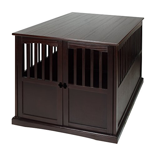 ooden Extra Large Pet Crate, End Table 31.5