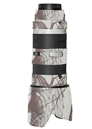 LensCoat lc70200nissn Canon 70 – 200 F / 2.8 no isレンズカバー(Realtree AP雪) B0087N0962