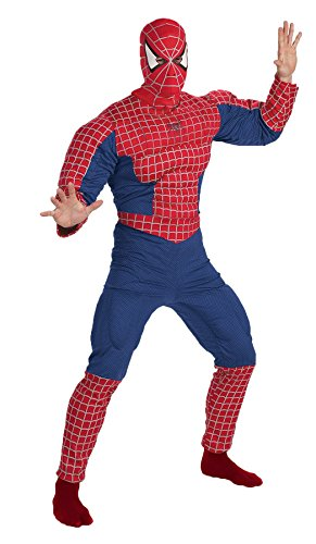 SPIDERMAN MUSCLE CHEST ADULT