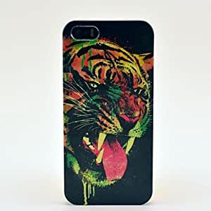 2014 recién llegado de Pésimo patrón del tigre Caja dura de la PC para el iPhone 5/5S