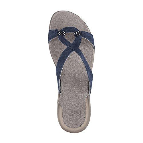 Sholl–Snipul–Sandalias para mujer, azul marino