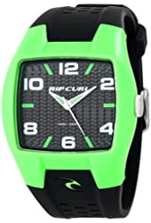 """Rip Curl Men's A2410-FGR """"Pivot"""" Surf Watch with Black Band"""