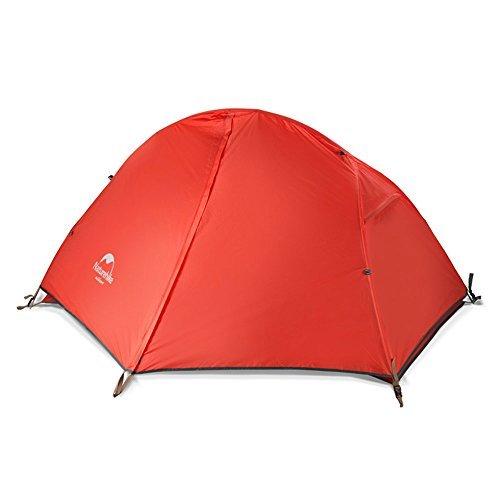 Naturehike1 Person Zelt 3 Jahreszeiten Camping Zelt Ultralight Outdoor Zelt Wasserdicht Zelt