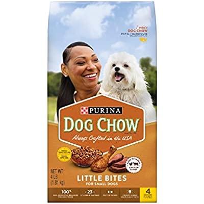 Purina Dog Chow Little Bites Real Chicken & Beef Adult Dry Dog Food