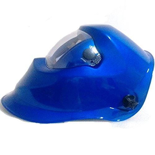 Warrior Blue Solar Auto Darkening Welding Helmet Mask for TIG MIG ARC Welders