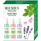 Facial Spray with Rosewater Aloe Vera & Facial Spray with Cucumber Green Tea & Facial Spray with Lavender Chamomile Set…
