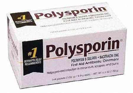 (J&Johnson 56571400 First Aid Antibiotic Polysporin 0.9 Gm Ointment 358232403497 Box Of 144 )