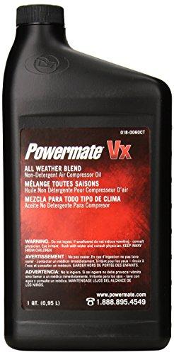 Powermate 018-0060CT Air Compressor Oil, 1-Quart (Air Pump Oil)