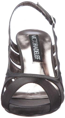 Femme Delef Victoria Noir Schwarz Escarpins negro 12v0881 wTgaFq