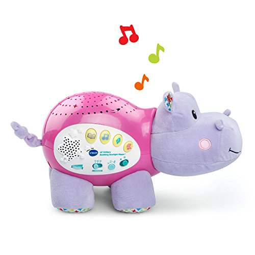 Vtech lil 39 critters soothing starlight hippo pink online exclusive buy online in uae - Voice activated baby soother ...