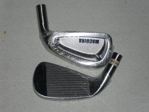 Machina Golf Iron Heads Set 17-4 Stainless Steel 3-PW,SW,LW by Machina Golf