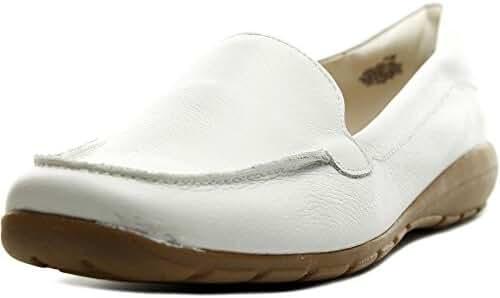 Easy Spirit Abidet WW Round Toe Leather Loafer