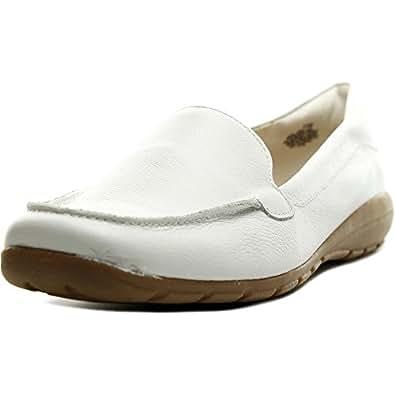 easy spirit abidet us 6 ww white loafer