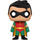 Robin: Funko POP! x Batman the Animated Series Vinyl Figure + 1 FREE Official DC Trading Card Bundle (115711)