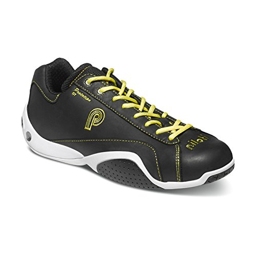 (piloti 00133BLACK-YELLOW8 Shoes)
