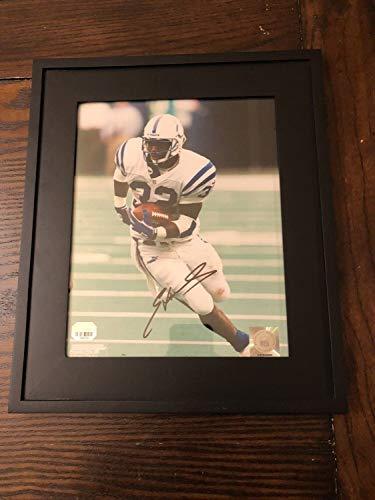 Edgerrin James Indianapolis Colts Autographed Signed Autograph Framed 8x10 Fanatics - Edgerrin Framed James