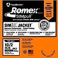 Romex 63950021 25' 6/3 Black Stranded CU SIMpull NM-B Wire