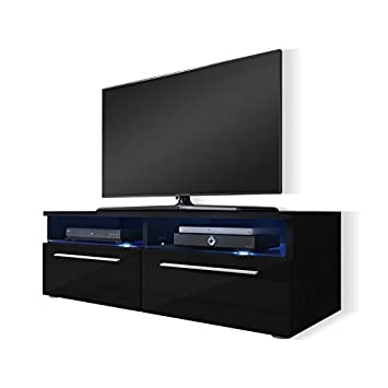 Tv lowboard schwarz matt  Siena - TV-Lowboard / TV Schrank: Amazon.de: Elektronik