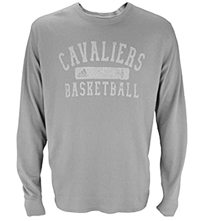c6b068033 Cleveland Cavaliers NBA Men s Long Sleeve Vintage Thermal Shirt - Gray  (X-Large)