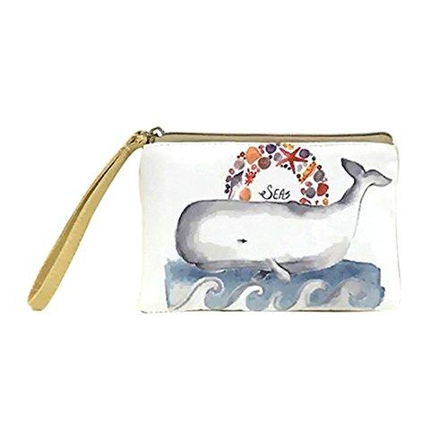 Bag Mini Handbag Powerfulline Elk Elephant Printed Phone Coin Whale Cute Women's Purse 6 Cat 7CfxpnxqFw