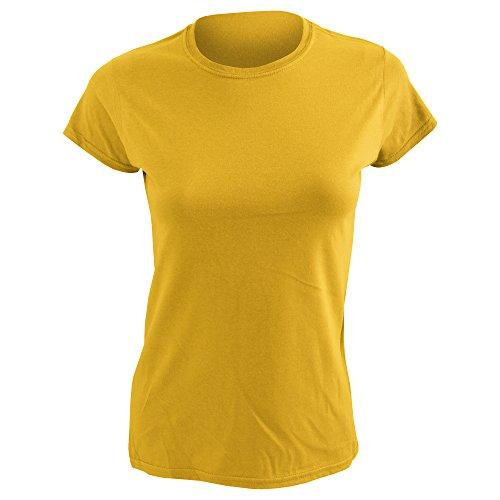 - Gildan Ladies Soft Style Short Sleeve T-Shirt (XL) (Daisy)