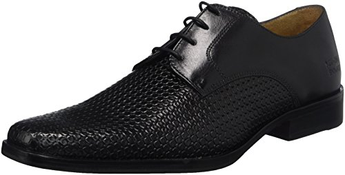 Black Ecocalf Noir Bubble Hamilton amp; Melvin New 1 Derbys Hrs Homme Black Mark EU 39 Noir Black 1Ox7nxY