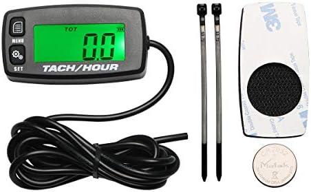 Retroiluminación Tach mantenimiento RPM Hora Medidor Tacómetro ...