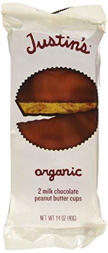 (Justin's Organic Milk Chocolate Peanut Butter Cups, 1.4 oz)