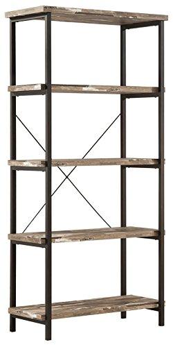 Bookcase Salvaged Cabin/Black 801552