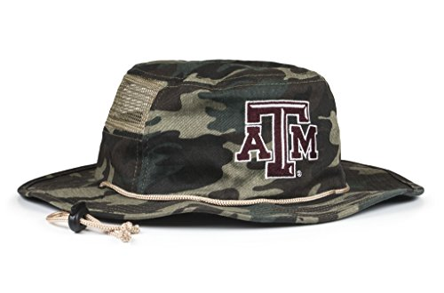 NCAA Texas A&M Aggies Adult Unisex The Boonie, One Size, Camouflage