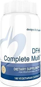 Designs for Health - DFH Complete Multi - Bioavailable Full-Spectrum + Chelated Minerals, Copper-Free + Iron Free, 180 Capsules