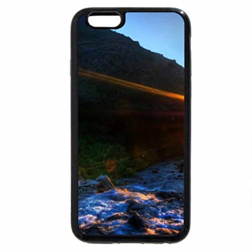 iPhone 6S / iPhone 6 Case (Black) magnificent devil's tower in wyoming hdr