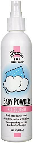 Top Performance Baby Powder Pet Cologne, 8-Ounce