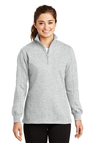 Ladies 1/4 Zip Sweatshirt - 5