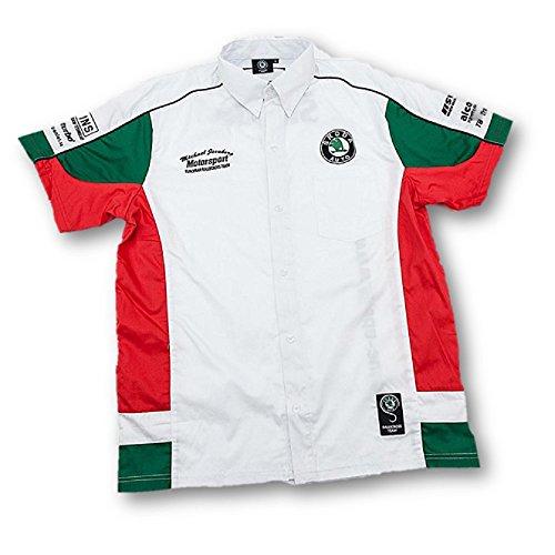 Michael Jernberg Motorsport Skoda Auto Rallycross Team White Shirt Xs