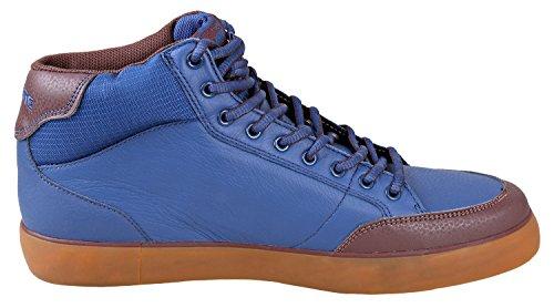Lacoste Premont Mi Nous Spm Mens Sneakers Dk Blu / Brw