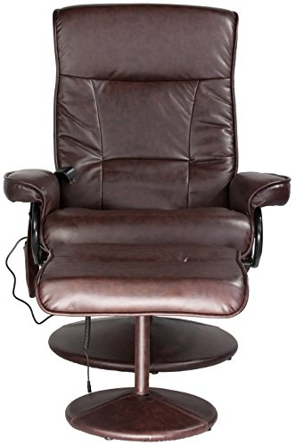 Relaxzen Leisure Recliner Chair With 8 Motor Massage