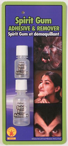 Rubie's Costume Spirit Gum and Remover, Transparent, One Size -
