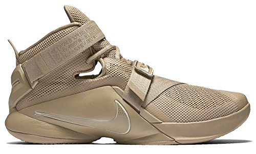 Desert Beige Desert Camo string Nike Uomo Prm Camo Lebron IX Beige Soldier Scarpe Beige da Basket qBAqFZOK