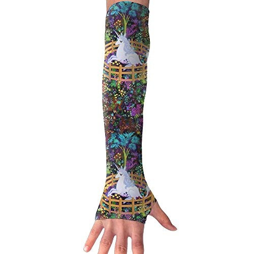 Huadduo The Last Unicorn In Captivity UV Sun Protection Sleeves,Cooling Arm Sleeves For Men & Women Long Arm Sleeve Glove Fit Running,Golf,Cycling, Biking,Driving. by Huadduo