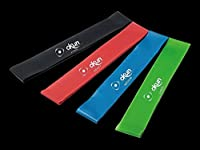 Resistance Stretch Loop Bands For Exercise Equipment With Set Of 4 Strength Bands, Improve Mobility & Simplify Yoga Workout Bands Resistance, Suitable Gym Equipment For Men & Women. by okun