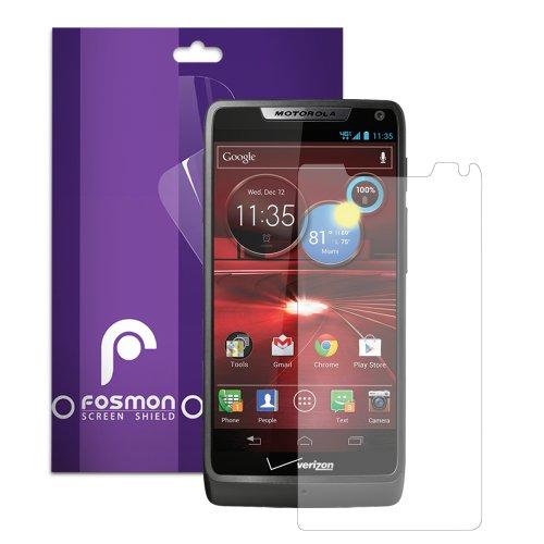 Fosmon Anti-Glare (Matte) Screen Protector Shield for Motorola DROID RAZR M 4G LTE / XT907 - 1 Pack