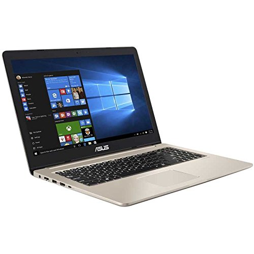 "ASUS M580VD-EB76 VivoBook 15.6"" FHD thin and light Gaming Laptop (Intel Core i7-7700HQ, GTX 1050 4GB, 16GB DDR4, 256GB SSD+1TB HDD), backlit keyboard"