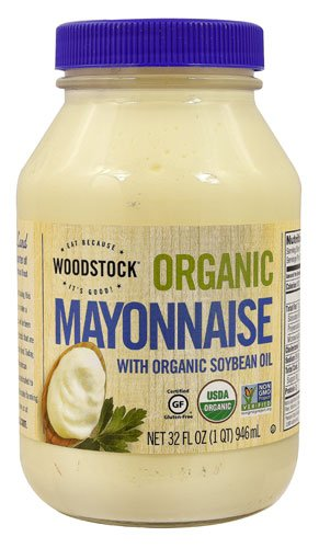 Woodstock Organic Mayo with Organic Soybean Oil -- 32 fl oz - 2PC