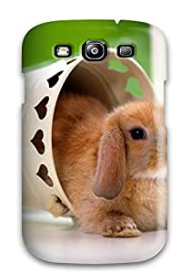 Galaxy S3 Hard Back With Bumper Silicone Gel Tpu Case Cover Rabbit 9 Animal Other
